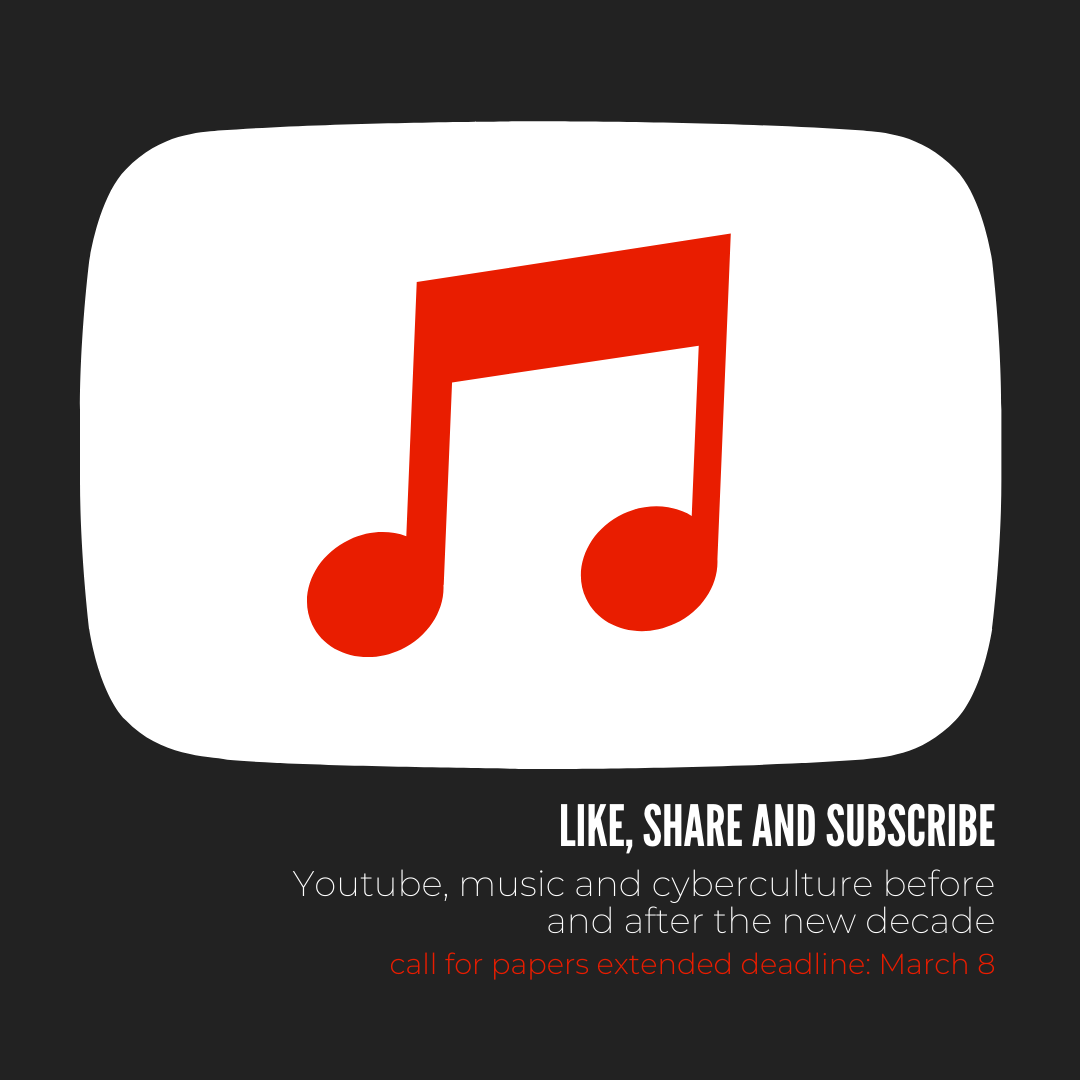 Like Share And Subscribe Youtube Music And Cyberculture Before And After The New Decade Golden Pages For Musicologists
